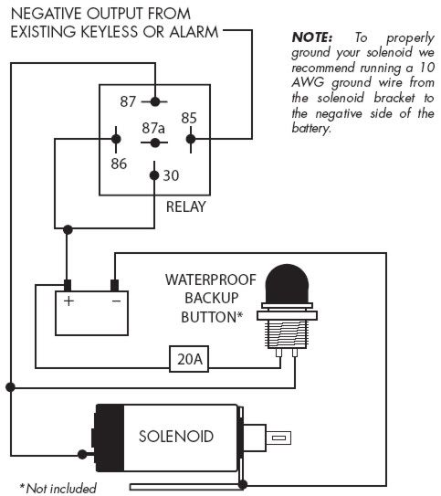 Autoloc Door Popper Wiring Diagram