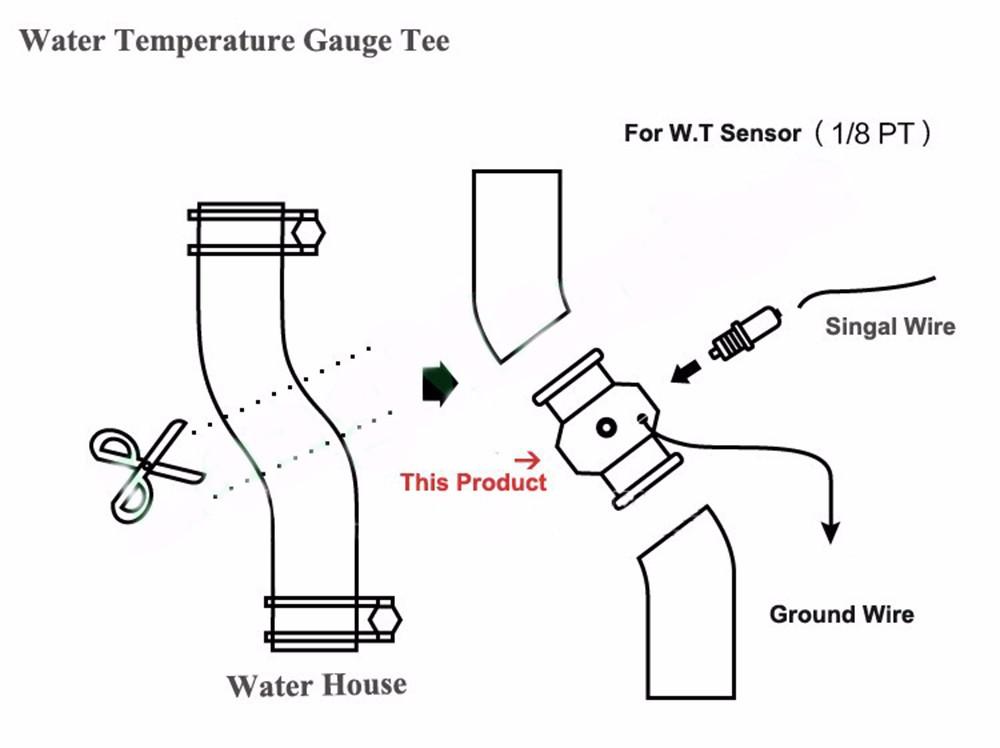 Autometer Water Temp Gauge Wiring