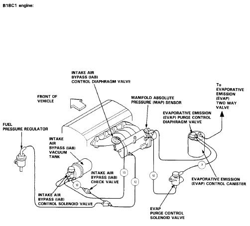 B18b1 Intake Manifold Diagram