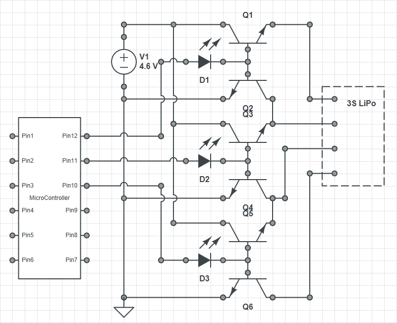 B6 Charger Jst To 6s Cells Lead Wiring Diagram
