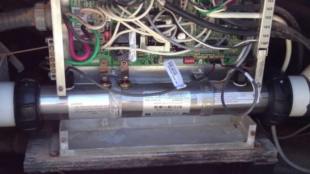 medium resolution of hot tub wiring install