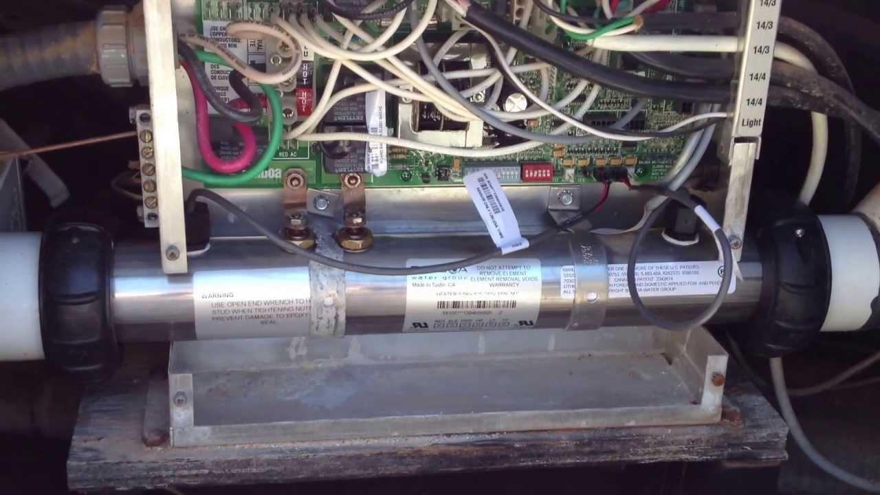 hight resolution of hot tub wiring install