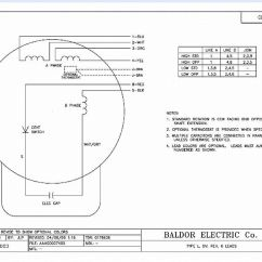 Baldor Single Phase Motor Wiring Diagram Mitsubishi Mirage Stereo Capacitor Schematic Electric 5 3 Hp 10