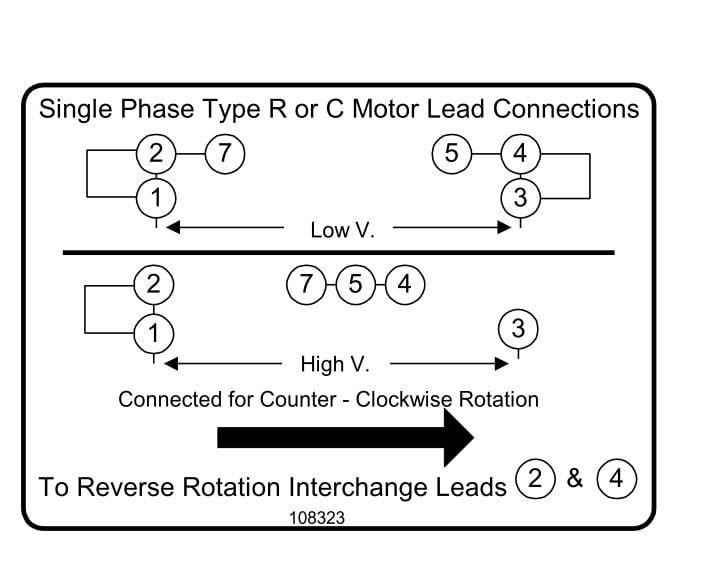 Baldor Reliance Motor Wiring Diagram