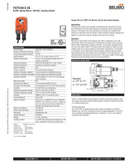 Belimo Tfb120-s Wiring Diagram