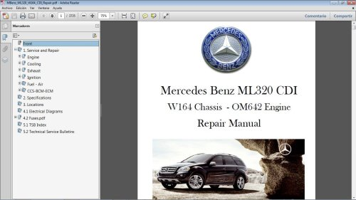 small resolution of mercede benz ml320 wiring diagram