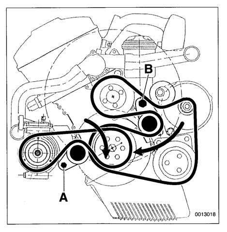 N52 Bmw X5 Belt Diagram. serpentine belt replacement
