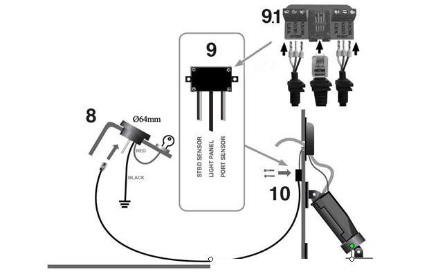 Boat Leveler Wiring Diagram
