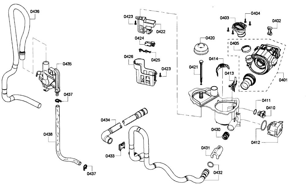 medium resolution of bosch dishwasher wiring harnes