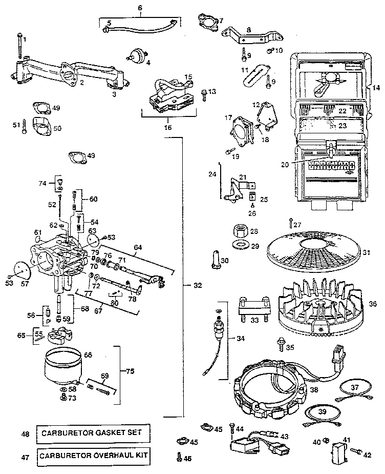 Briggs And Stratton Wiring Diagram 16 Hp 402707-1205-01