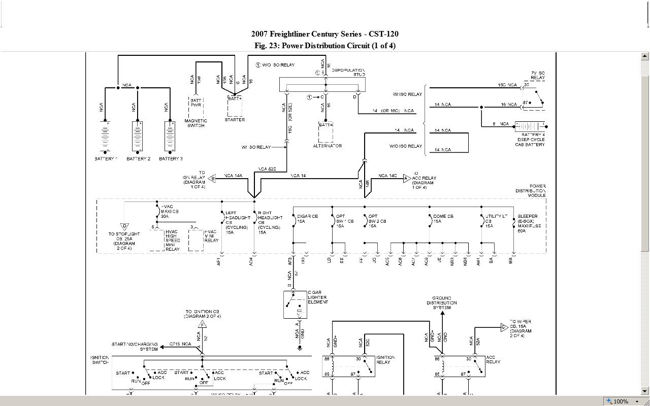 hight resolution of cascadia ecu wiring diagram