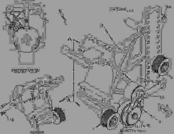 Cat C15 Belt Routing Diagram