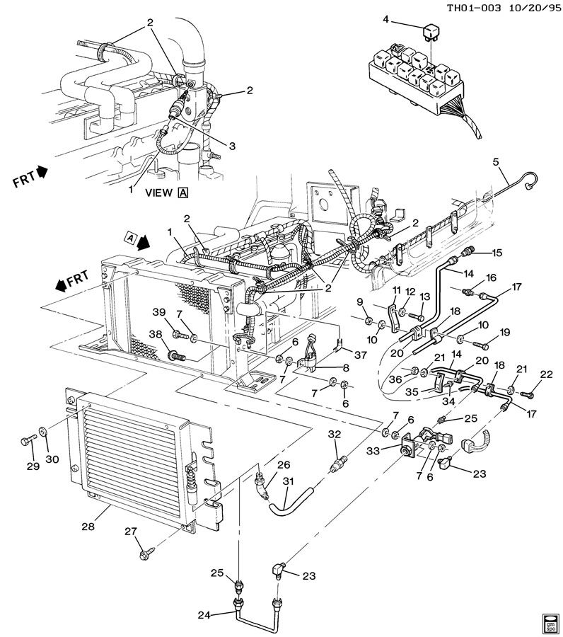 Caterpillar 3116 Engine Diagram