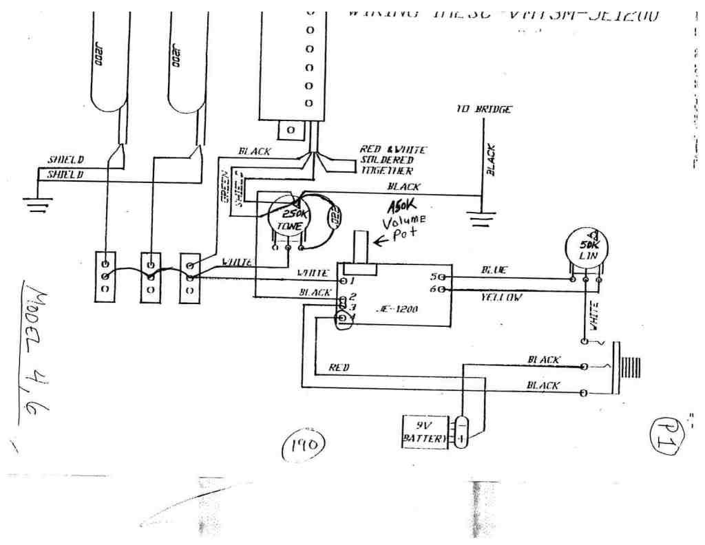 Charvel Model 4 Wiring Diagram