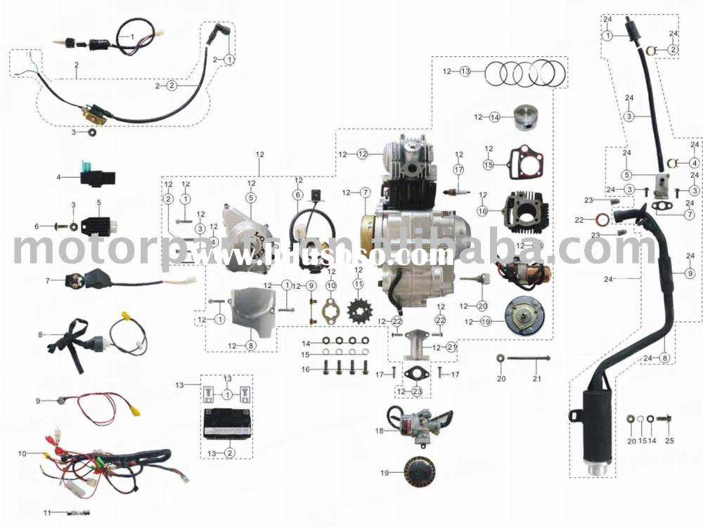 medium resolution of chinese mini atv wiring diagram