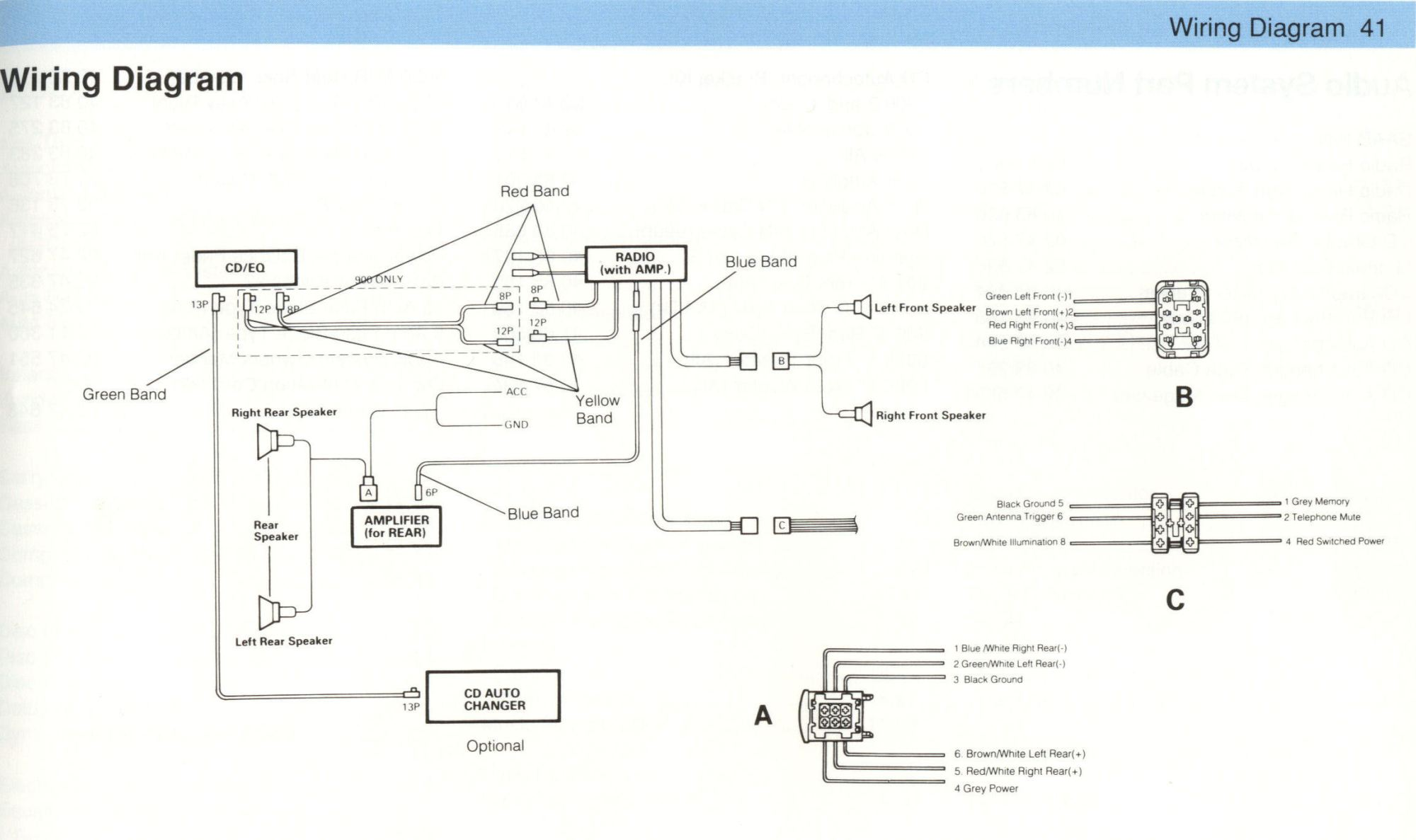 hight resolution of clarion cz102 car stereo wiring diagram