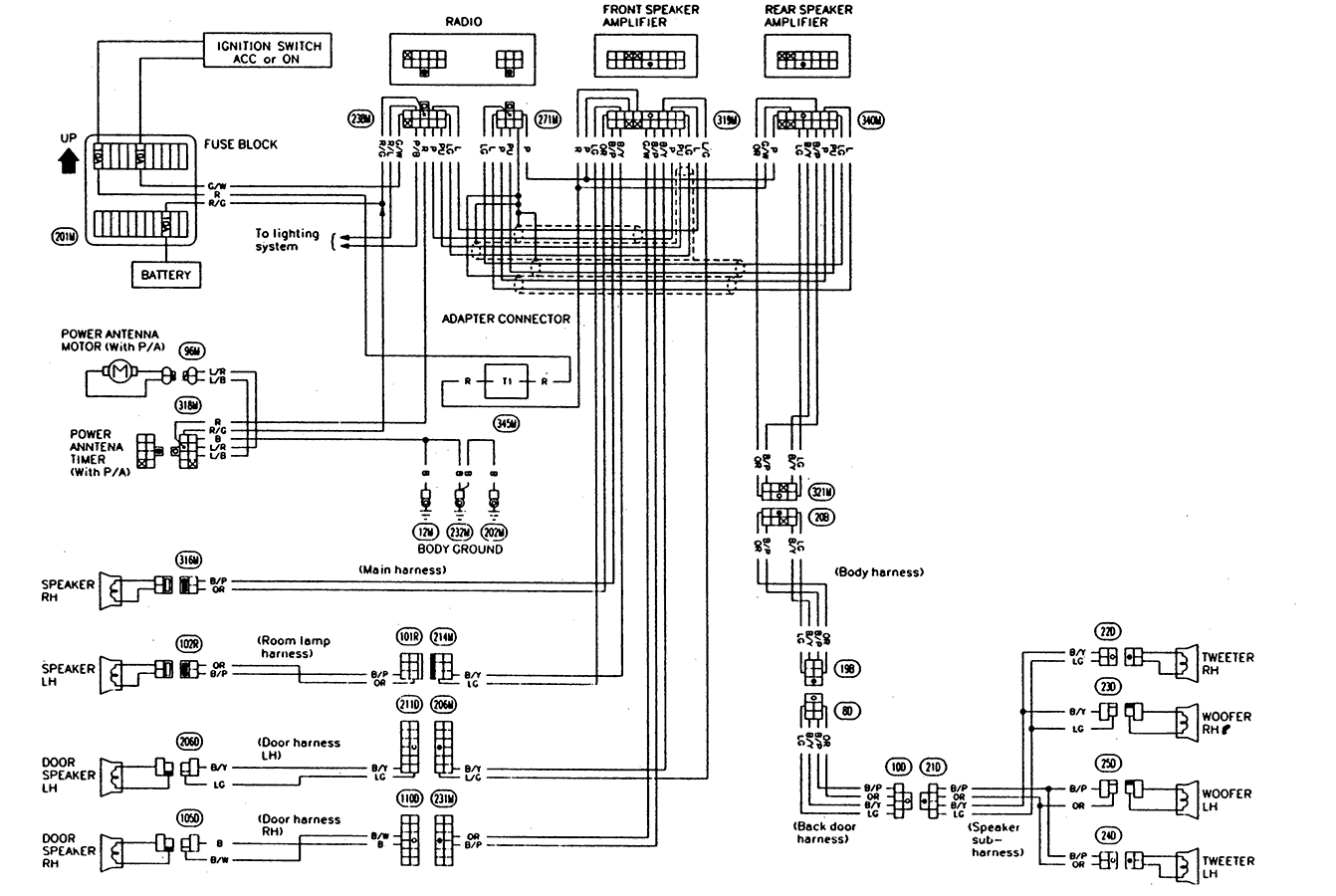 hight resolution of  array clarion m508 wiring diagram nissan frontier rh schematron