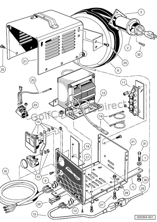 Club Car Battery Wiring Diagram 17930