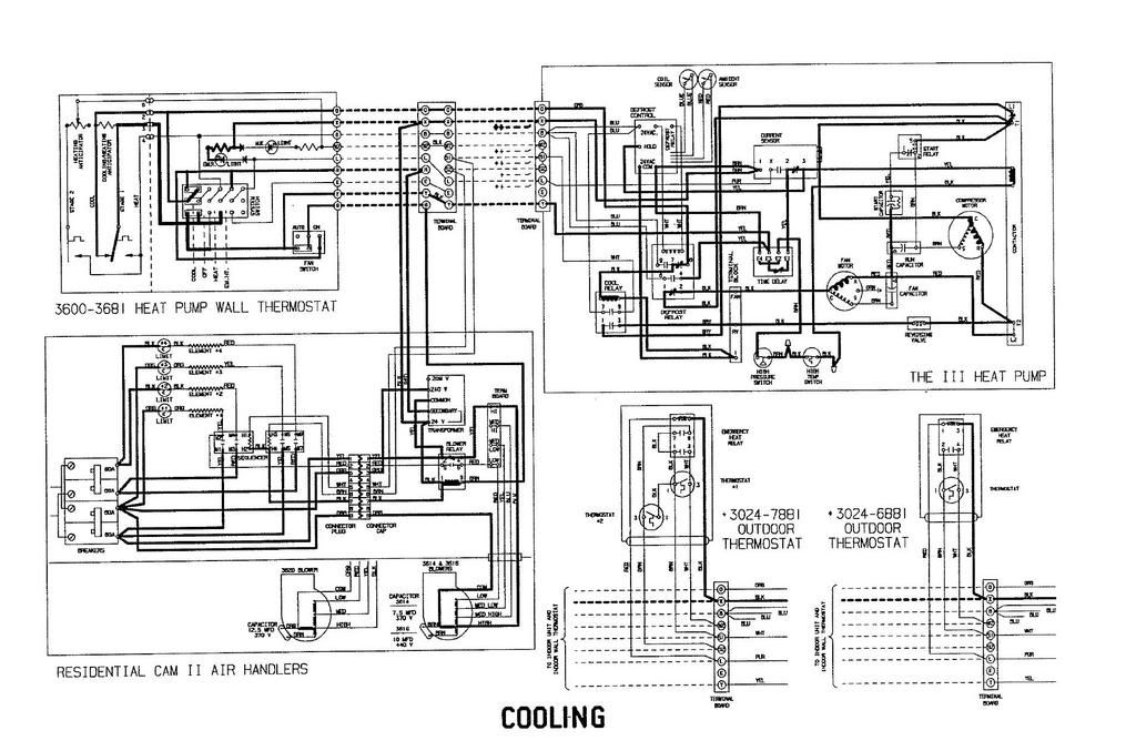 Coleman Evcon Heat Pump Wiring Diagram