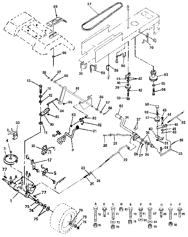 Craftsman Lt4000 Parts Diagram