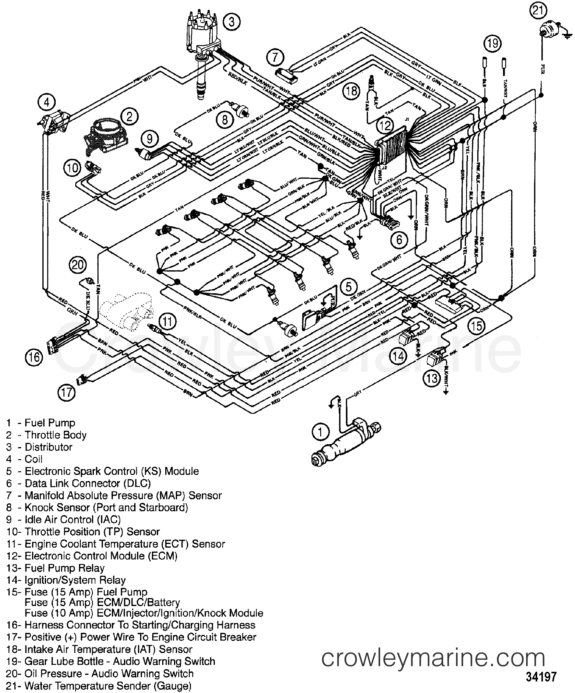 Crownline 202 Wiring Diagram