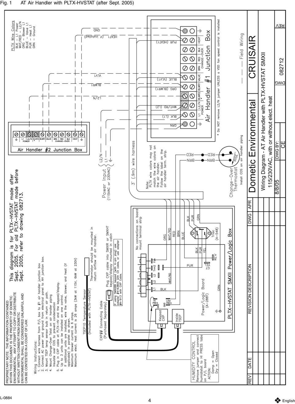 Cruisair Wiring Diagram