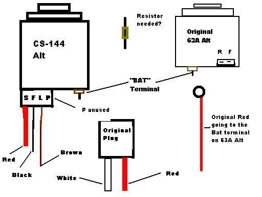 Cs130d Alternator Wiring