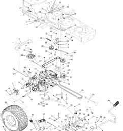 cub cadet lt1045 belt diagram [ 1096 x 1419 Pixel ]