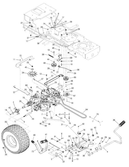 small resolution of cub cadet lt1045 belt diagram