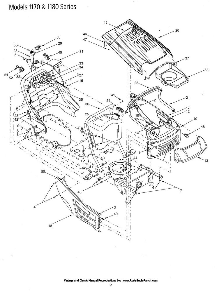 Cub Cadet Lt1045 Engine Diagram