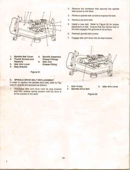 small resolution of cub cadet ltx 1000 mower deck diagram