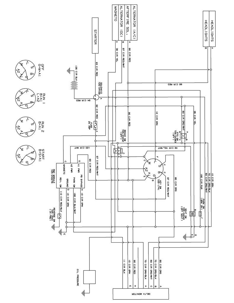 Cub Cadet Ltx 1046 Deck Diagram