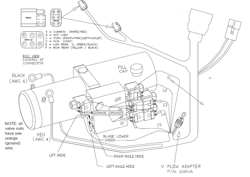 medium resolution of western plow control wiring diagram