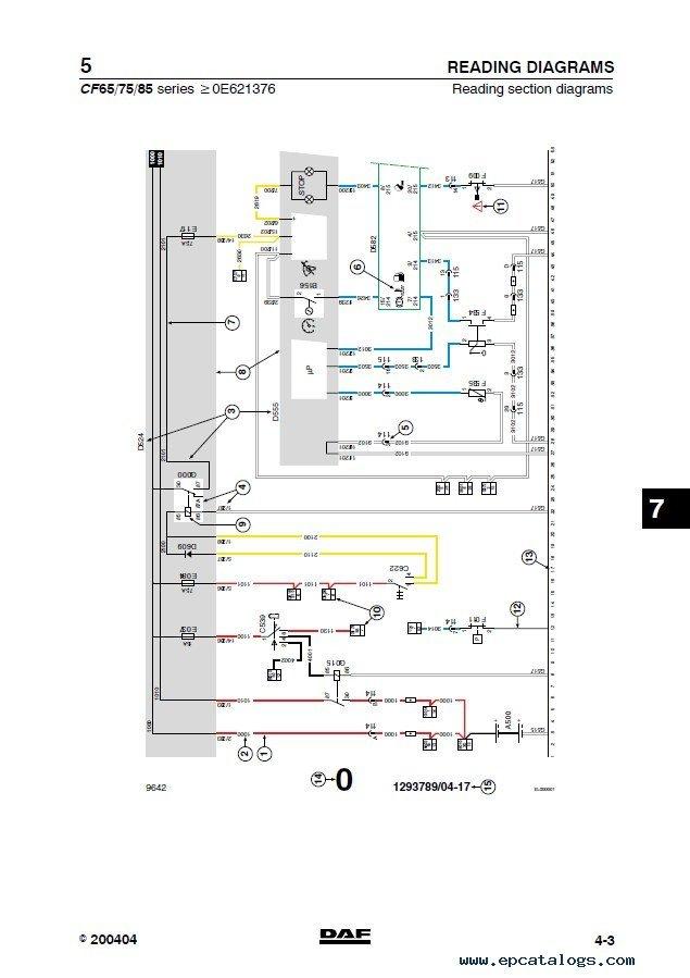 Daf Cf65 Wiring Diagram