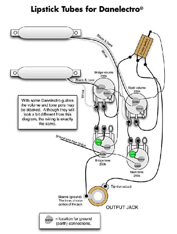 Danelectro Wiring Diagram