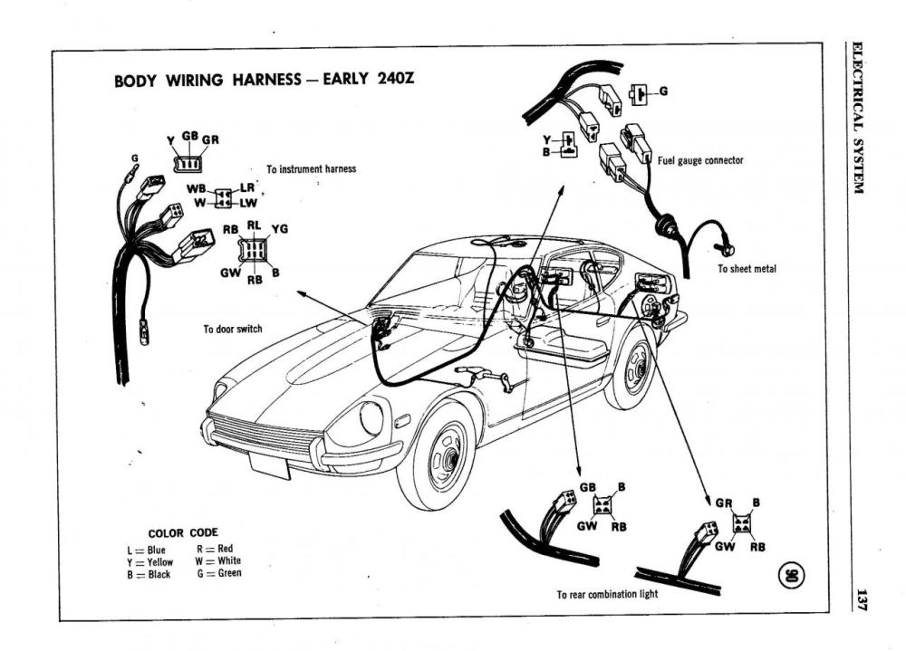 medium resolution of  wiring diagram additionally datsun z alternator on 2004 chrysler crossfire wiring diagram 1976 datsun 620