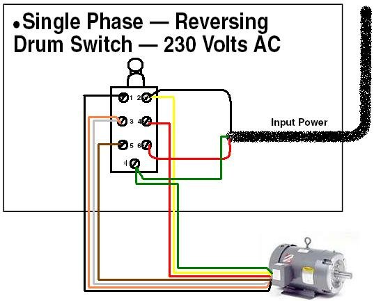 Drum Switch Wiring - Wiring Diagrams on
