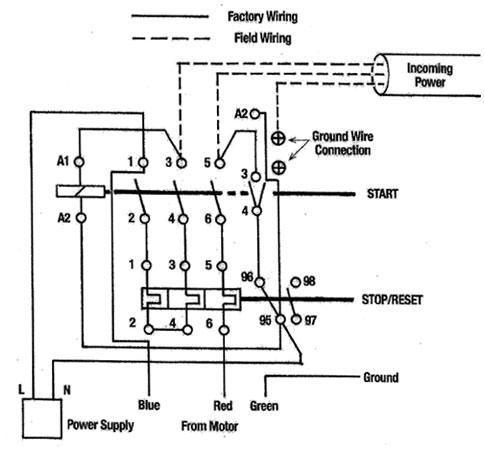 Dayton Motor 4k151 Wiring Diagram