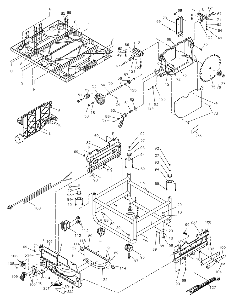 Dewalt 1712 Radial Arm Saw Wiring Diagram