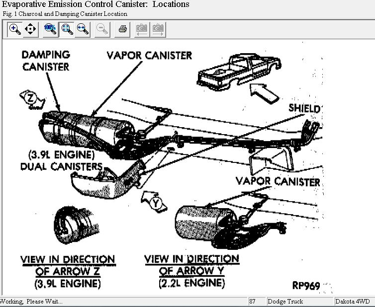 Dodge Dakota 3.9 V6 Engine Diagram