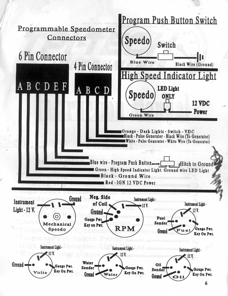 Dolphin Speedometer Wiring Diagram