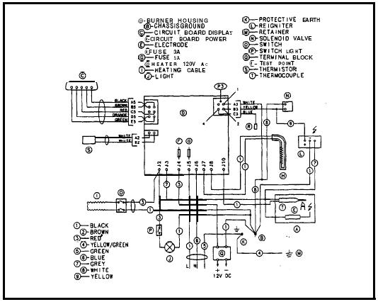 Wiring Diagram Dometic Rm1350mx