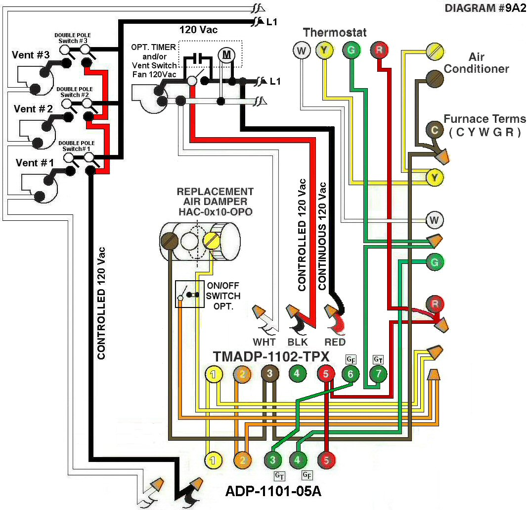 hight resolution of digital dometic t stat wiring diagram