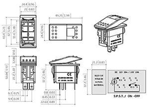 Dorman 84944 Switch Wiring Diagram Spst