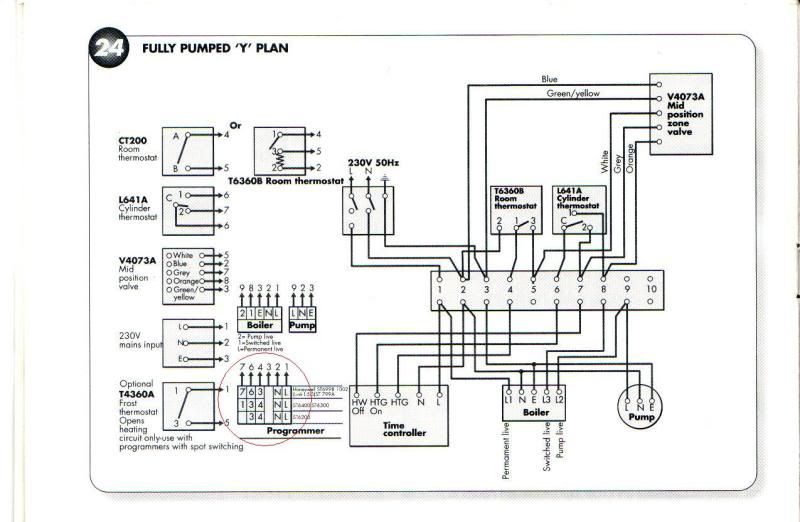Drayton Tempus Three Wiring Diagram