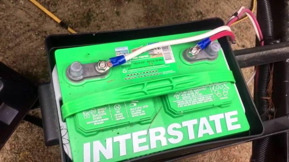 medium resolution of  trailer camp trailer battery wiring diagram on trailer battery system esco breakaway box diagram