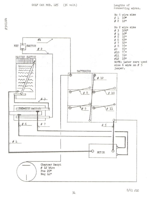 small resolution of txt golf cart wiring diagram