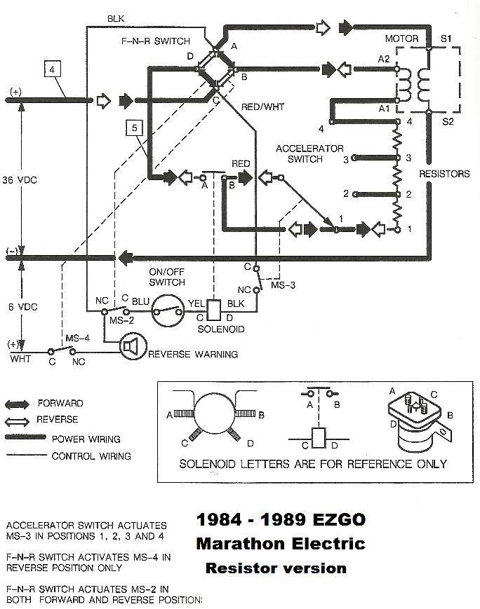 Ezgo Marathon Wiring Diagram 1979