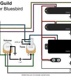 emg active bas pickup wiring diagram [ 1027 x 797 Pixel ]