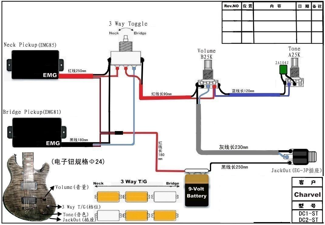 hight resolution of hs wiring diagram 1 volume 2 tone